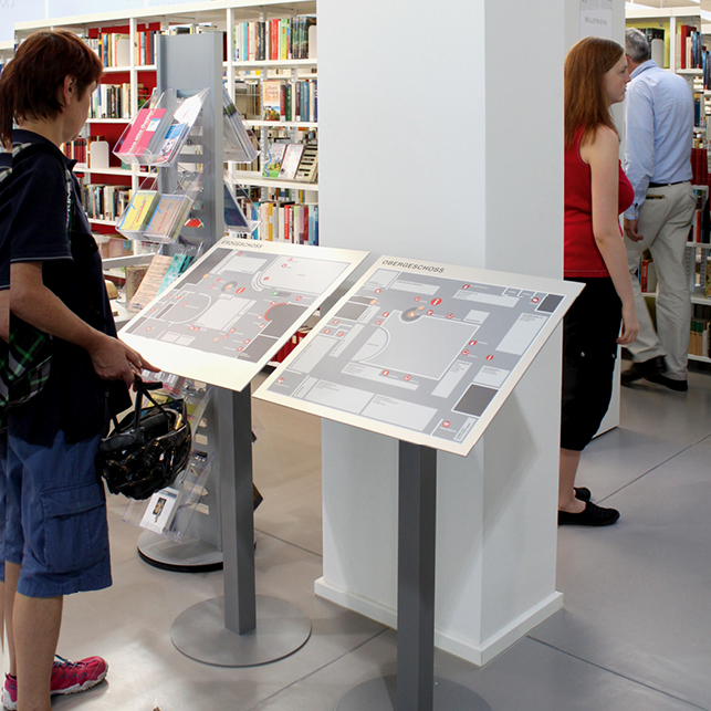 Landesbibliothek potsdam eckedesign for Produktdesign potsdam